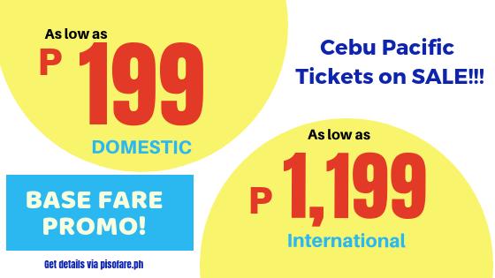 cebu pacific promo october 22 to 24, 2018