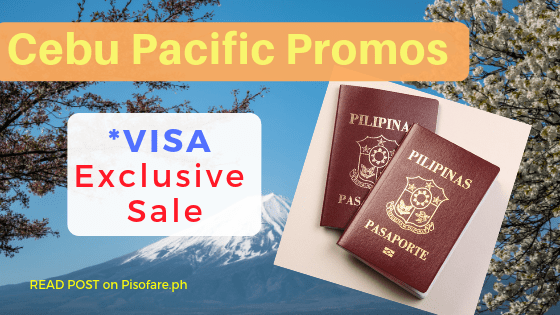 cebu pacific sale visa