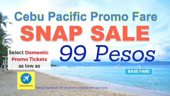 cebu pacific snap sale promo march to august