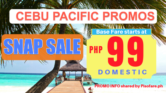cebu pacific snap sale promo march to july 2019