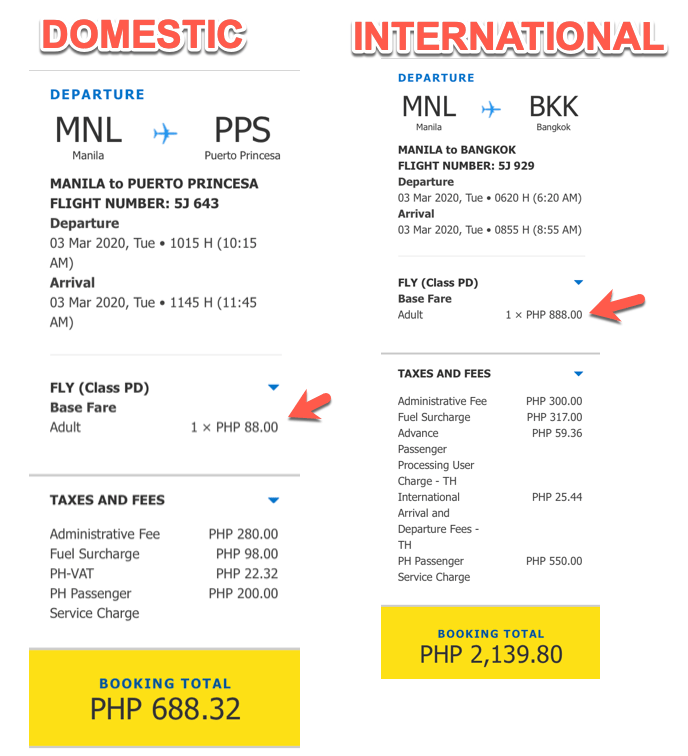 DOMESTIC PROMO 88 PESOS CEBU PACIFIC
