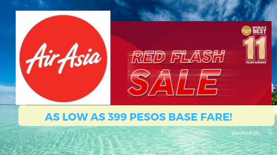 red flash promo air asia