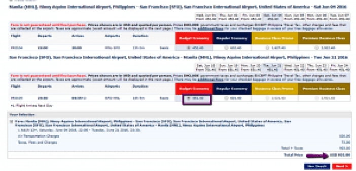 Manila to San Francisco Promo Fare 2016