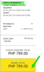 Cebu-Pacific-promo-Cebu-to-Dumaguete-June-2017