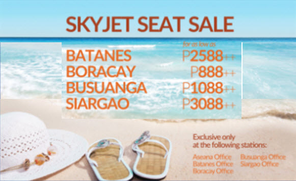 Skyjet-Promo-Tickets-Batanes-Coron-Boracay-Siargao-September-2017-September-2018