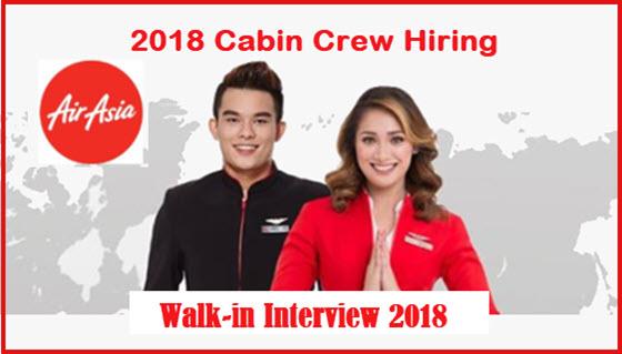 2018-Air-Asia-Cabin-Crew-Job-Walk-In-Interview