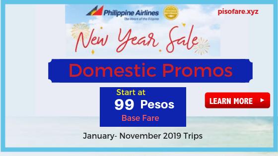 PAL Promo Fare Tickets 2019 On Sale