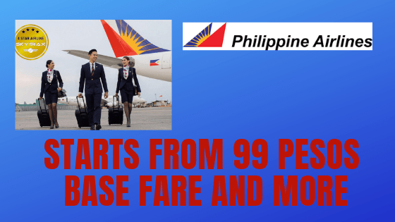 Philippine Airlines Promo Fare: Domestic Ticket 2019
