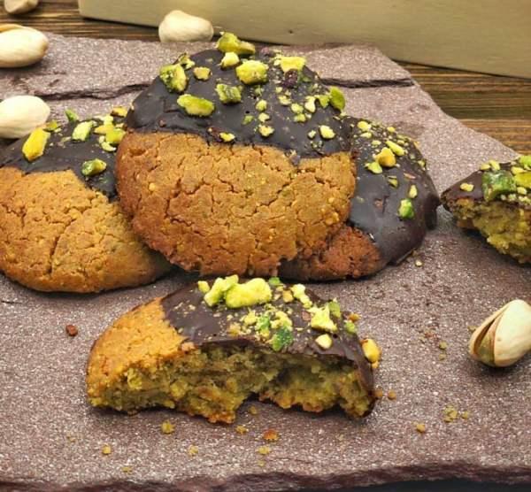 Cookie de pistacho saludable