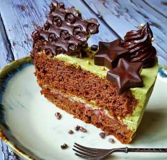 Tarta de pistachos cumpleaños I