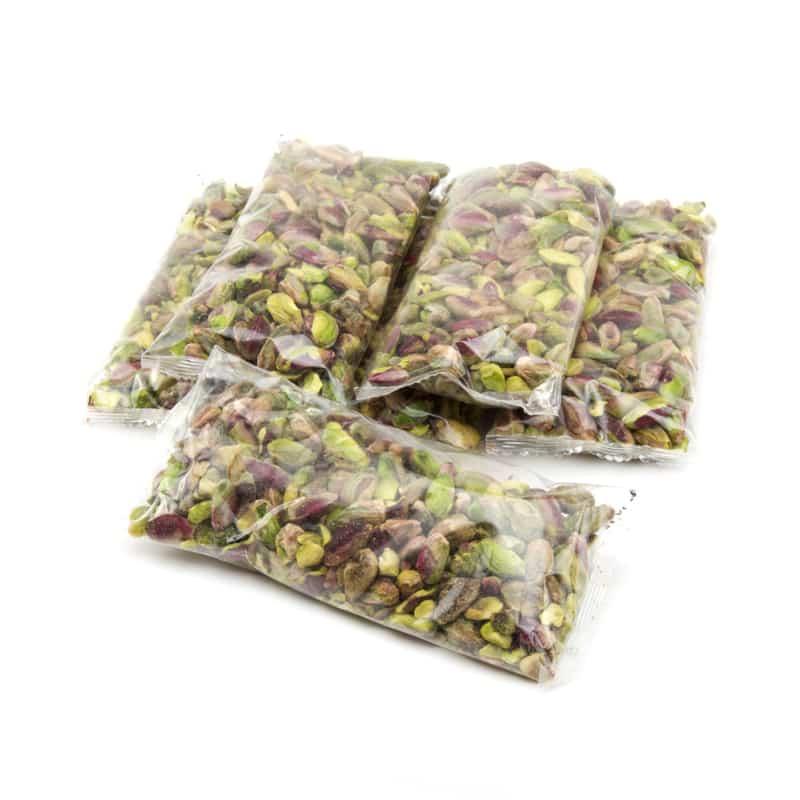 6 bolsas de pistachos pelados. 600 gramos pistachos pelados