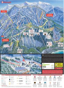 Heavenly Piste Maps