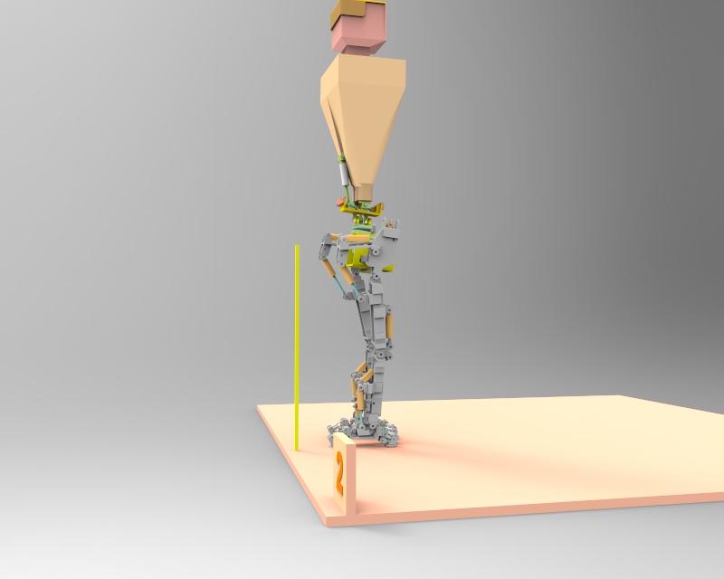 Little Robot Walking stance 2 v1.80