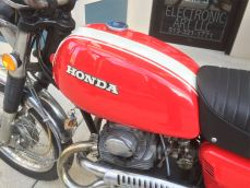 Honda CL175 Tank left