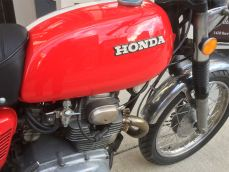Honda CL175 tank right