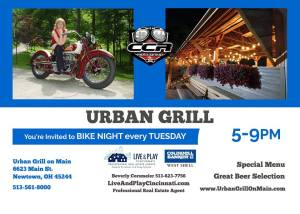 Motorcycle Night at Urban Grille @ Urban Grille | Cincinnati | Ohio | United States