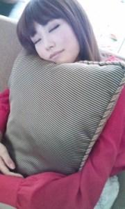 桐谷美玲 寝顔2