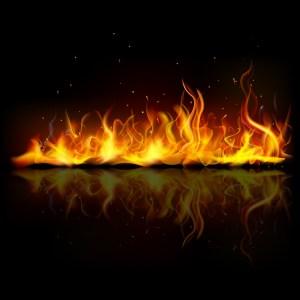 炎 フリー素材