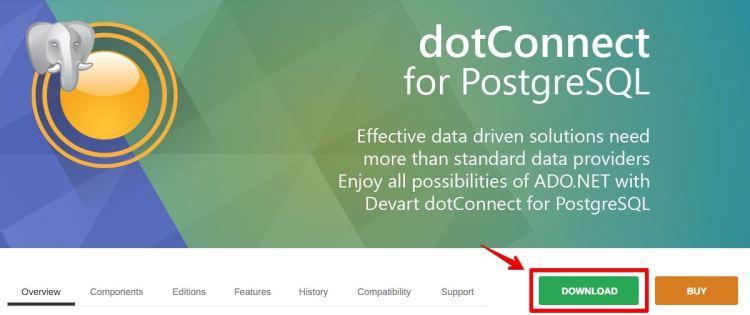 ADO.NET Provider for PostgreSQL with Entity Framework, LINQ to PostgreSQL and NHibernate Support 2015-12-19 12-33-27