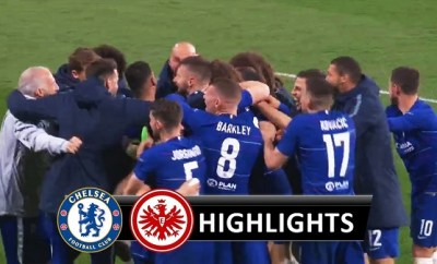 Chelsea vs Eintracht Frankfurt All Goals & Highlights