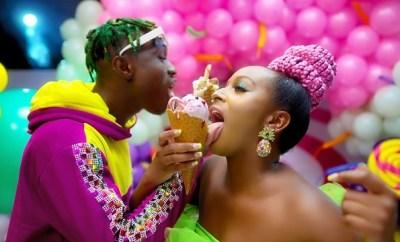 dj cuppy gelato ft zlatan video