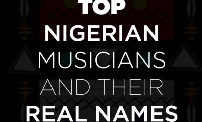 nigerian musicians real names