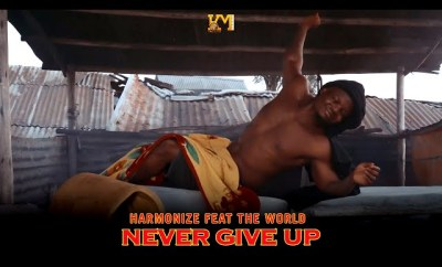 harmonize never give up english version video