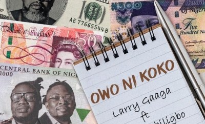 Larry Gaaga Owo Ni Koko ft Umu Obiligbo mp3 download