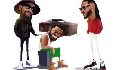 Basketmouth Papa Benji ft Flavour and Phyno