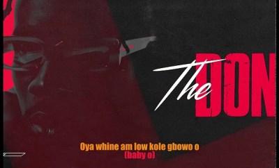 Mr Eazi The Don mp3 download