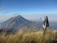 September - Climb Merbabu Mountain