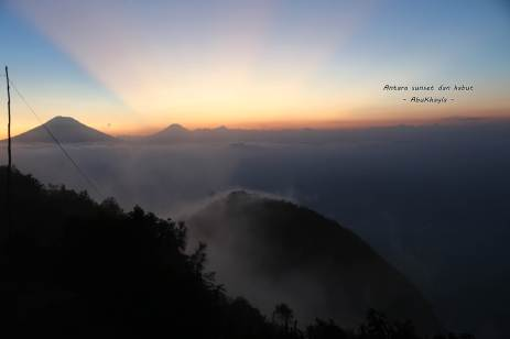 sunset Andong