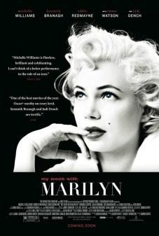 """Pôster original do filme """"Sete dias com Marilyn"""""""