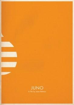 "Pôster minimalista do filme ""Juno"""