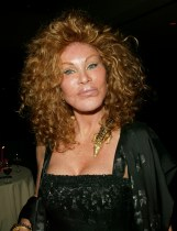 Jocelyn Wildenstein arriving at the Magical Birthday Bash to benefit the Christopher Reeve Paralysis Foundation at the Marriott Marquis in New York City. September 25, 2002 Photo by Evan Agostini/ImageDirect