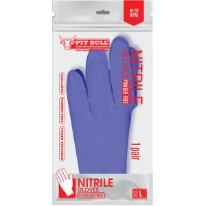 NITRILE GLOVES POUCH (BLURPLE)