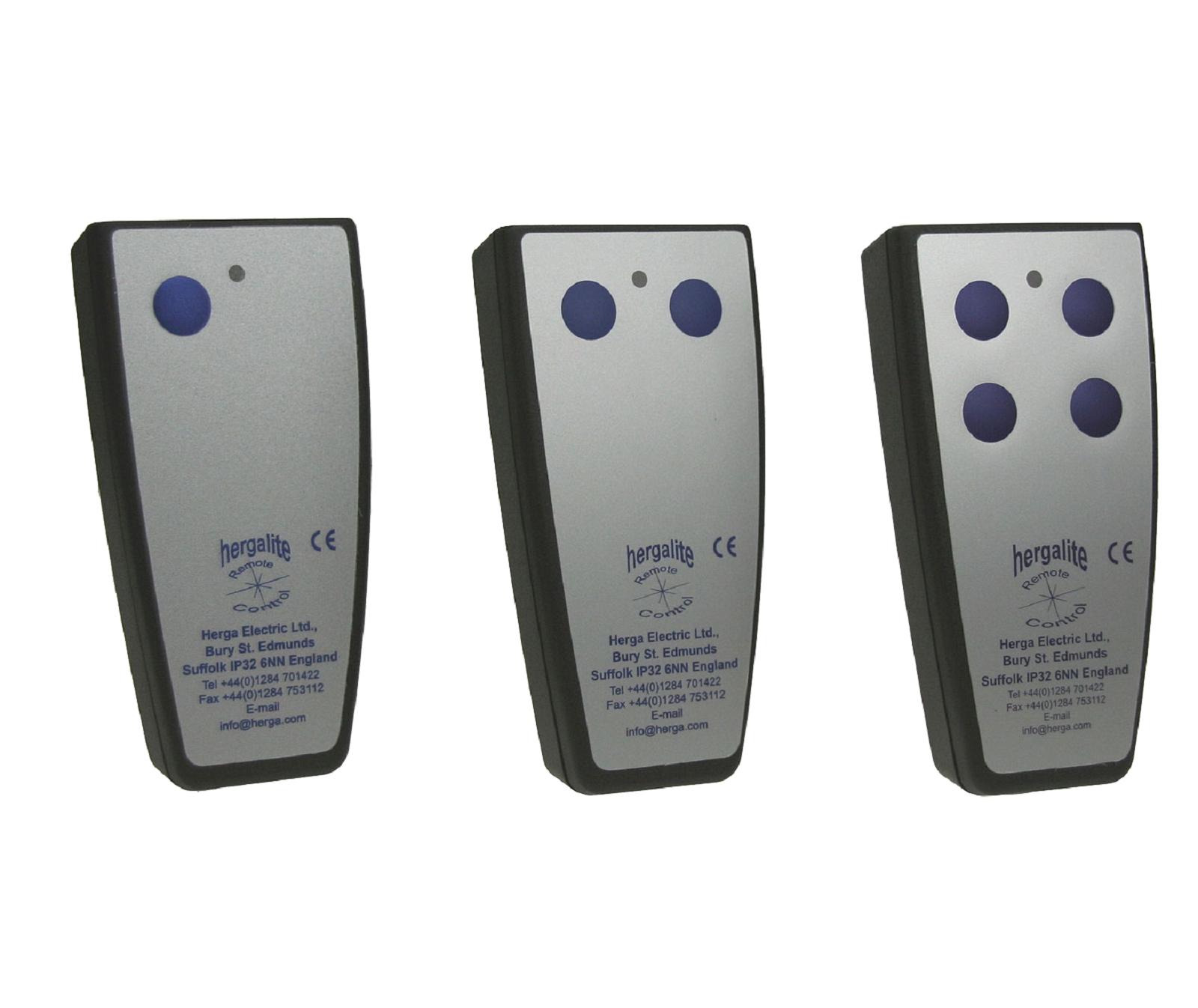 télécommandes électriques herga en france