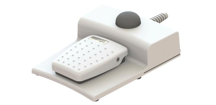 Interrupteur Haptic, intégré sur une pédale 6226