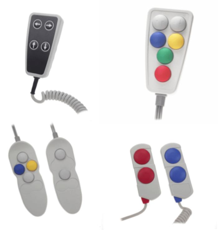 télécommandes pneumatiques et éléctriques