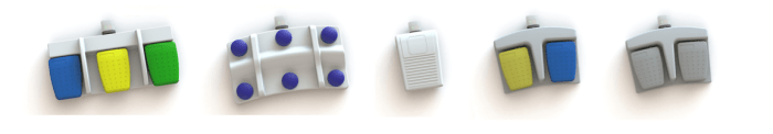 pédales Bluetooth HERGA