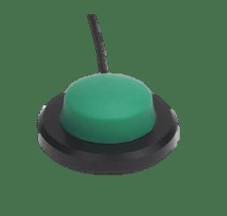 6241 bouton poussoir médical vert