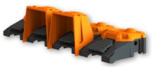 pédale industrielle robuste modulaire 6256