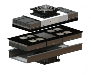 module peltier super cool, encombrement réduit, performances accrues LAIRD SAA-170