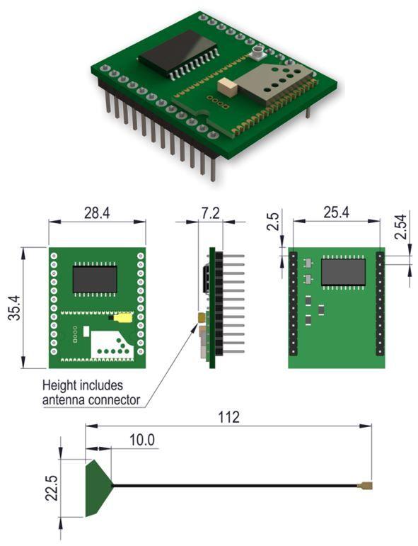 recepteur PCB 6311-BLE-001