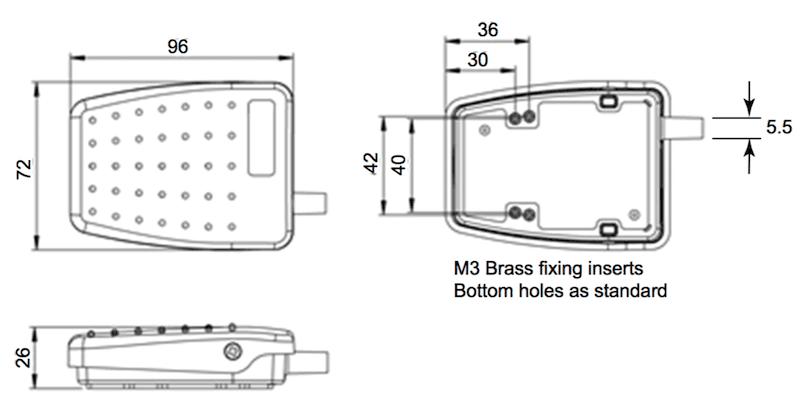 6227-S interrupteur en kit