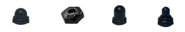 capuchons silicone noirs zago