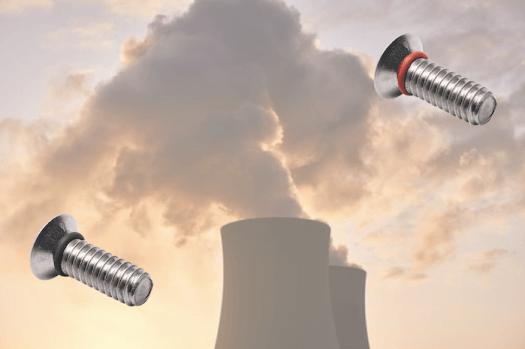 vis étanche PMUC pour nucléaire joint EPDM élastomère