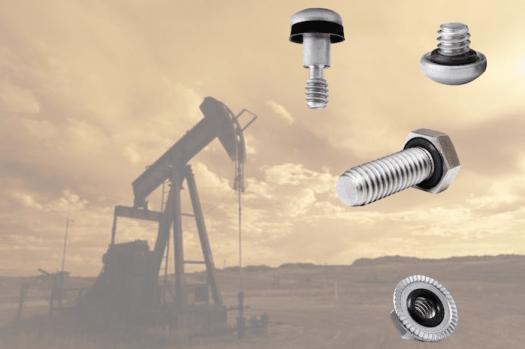 vis étanche pour industrie pétrolière. Petroleum sea-line screw o-ring