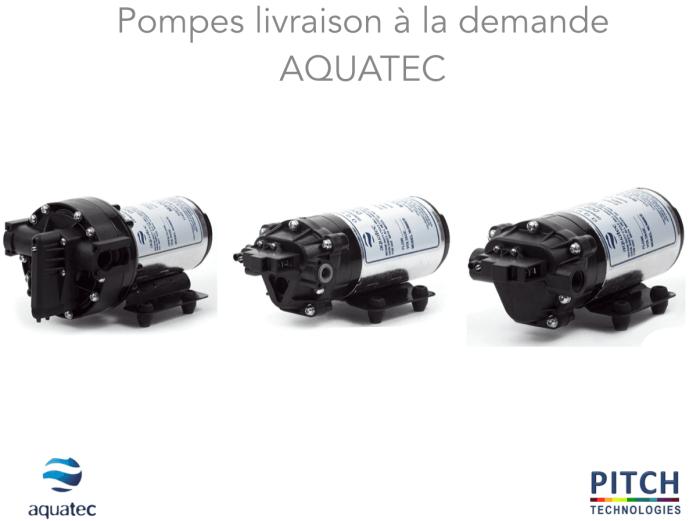 Pompes livraison à la demande AQUATEC