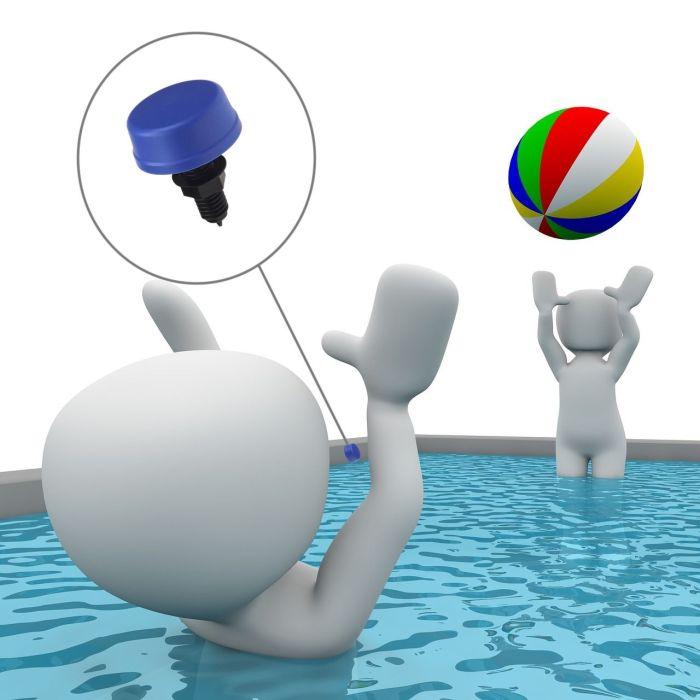 bouton pneumatique pour piscine spa